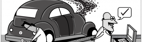 Car exhaust fraud