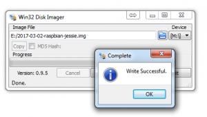 raspbian-win32diskimager